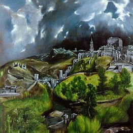 El Greco. Vista de Toledo, hacia 1597-1599. Metropolitan Museum of Art