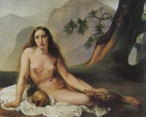 Francesco Hayez. Magdalena penitente, 1825