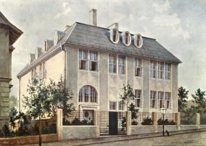 Hoffmann. Casa Beer-Hofmann, 1905-1906