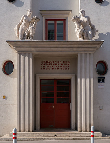 Hoffmann. Urbanización Klosehof, 1923-1925