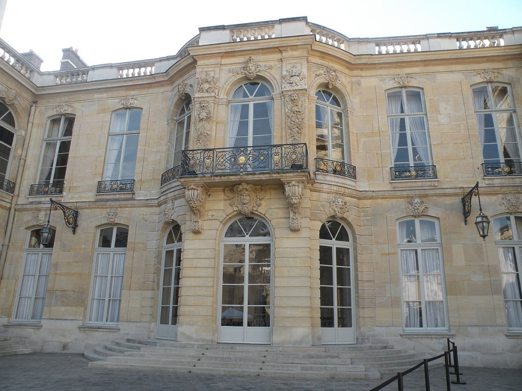 Hôtel Matignon, 1721