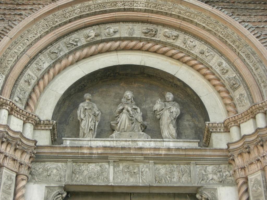 Jacopo della Quercia. Relieves en piedra para la iglesia de San Petronio de Bolonia, 1425-1438