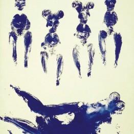 Yves Klein. ANT 74, 1960