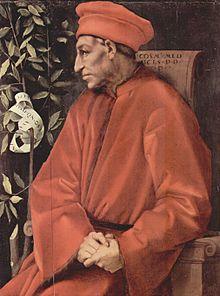 Jacopo Pontormo. Cosme de Médici
