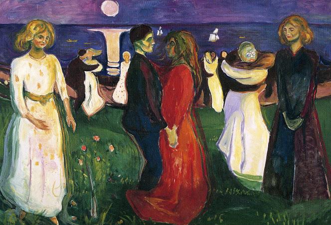 E. Munch. El baile de la vida, 1899-1900