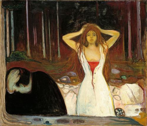 E. Munch. Cenizas, 1894