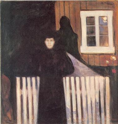 Munch. Claro de luna, 1893
