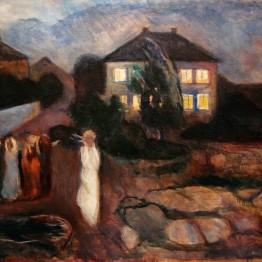 E. Munch. La tormenta, 1893
