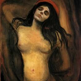 E. Munch. Madonna, 1894-1895
