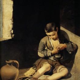 Murillo. Joven mendigo, hacia 1650. Museo del Louvre