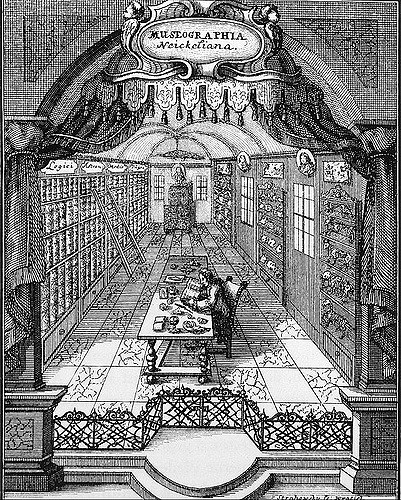 Neckel. Museographia, 1727