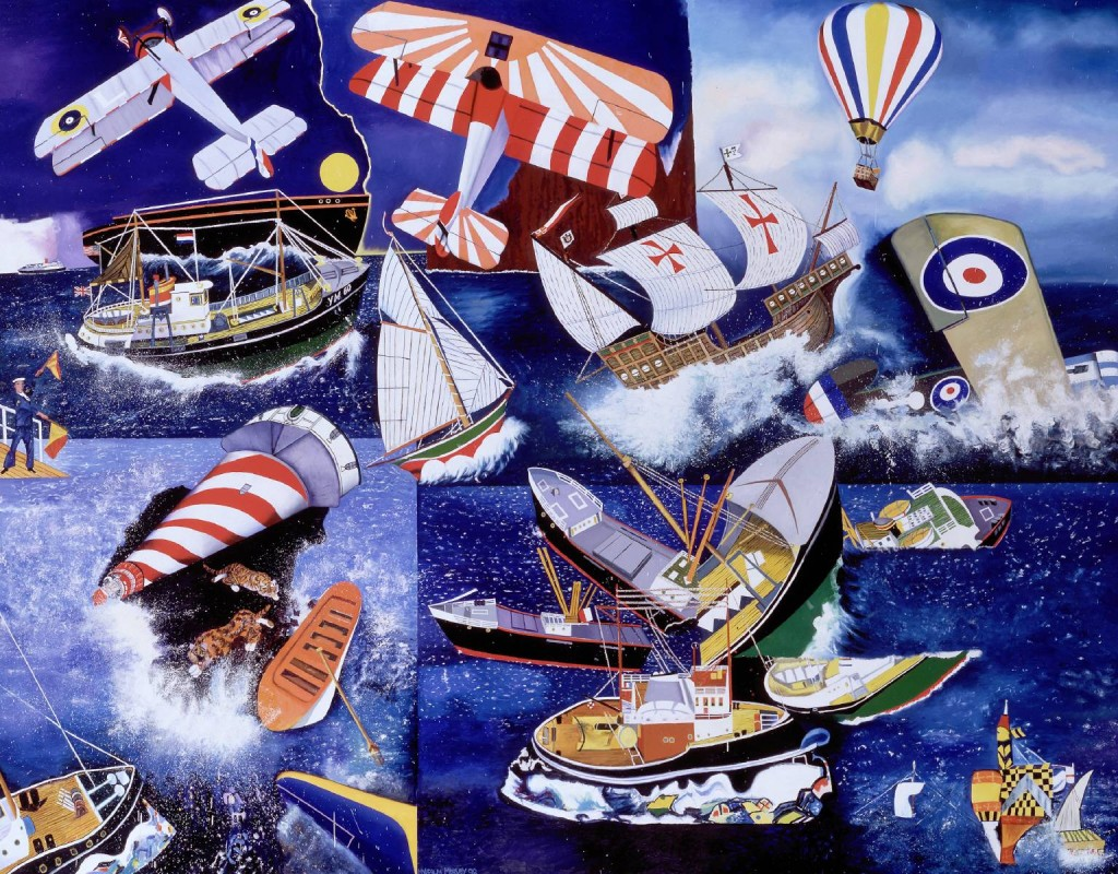 Malcolm Morley. Mariner, 1998