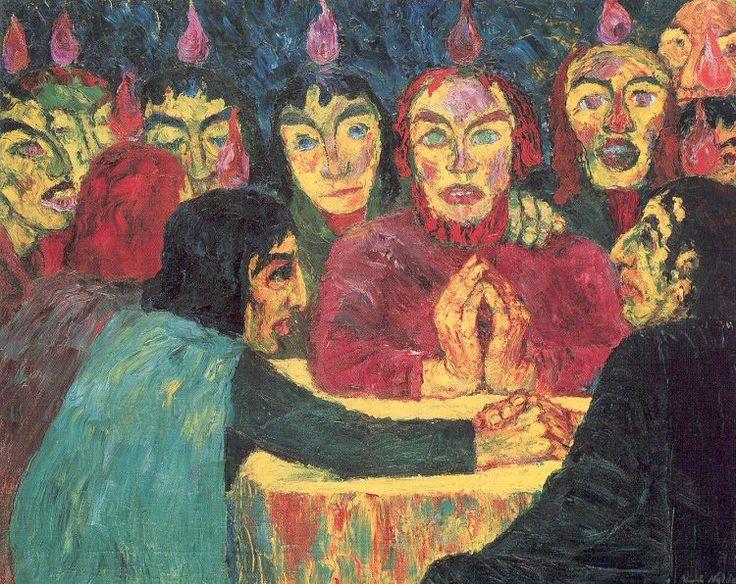 Emil Nolde. Pentecostés, 1909