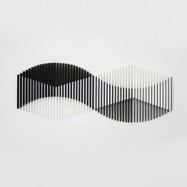 Op Art: cuando las formas bailan, el ojo crea