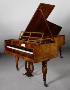 Conrad Graf. Fortepiano, hacia 1838. Colección del MET, Nueva York