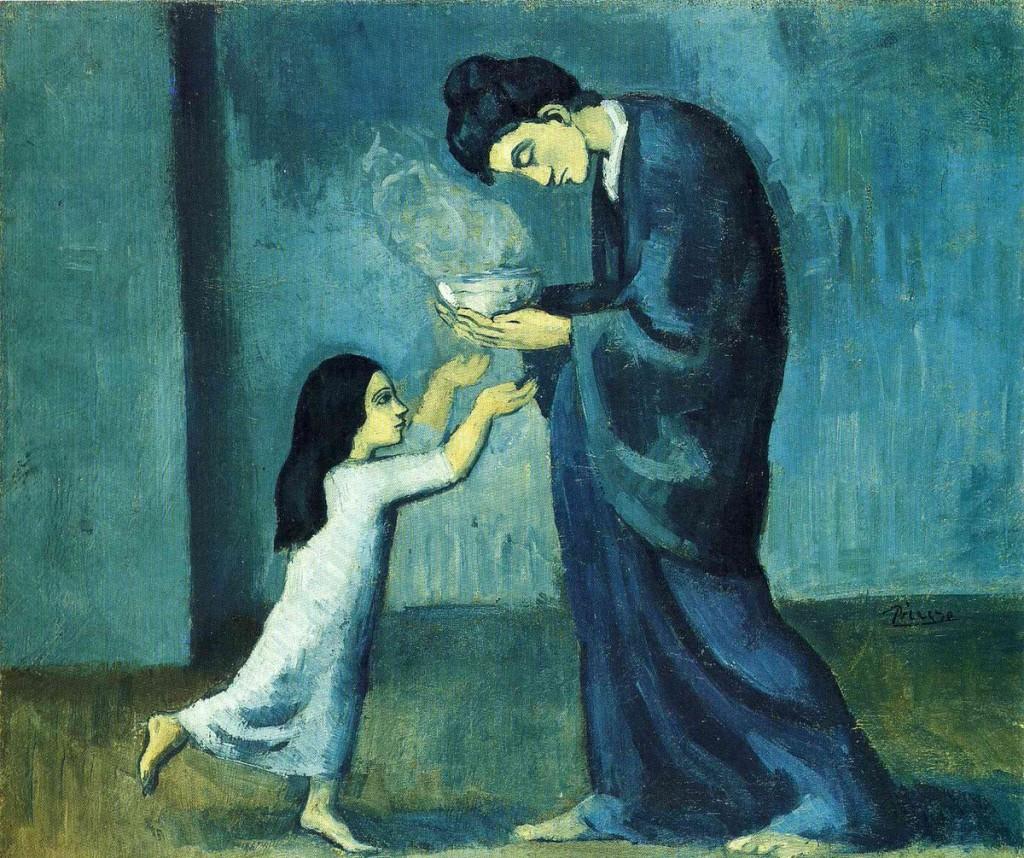 Picasso. La sopa, 1902-1903. Art Gallery of Ontario