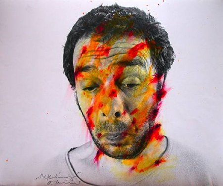 Arnulf Rainer, Face Farces, 1972
