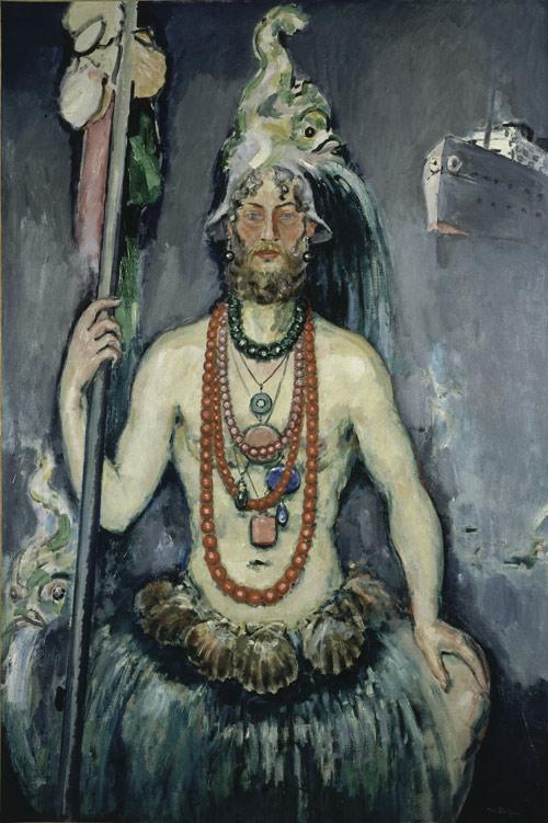 Kees Van Dongen. Autorretrato como desnudo, 1922