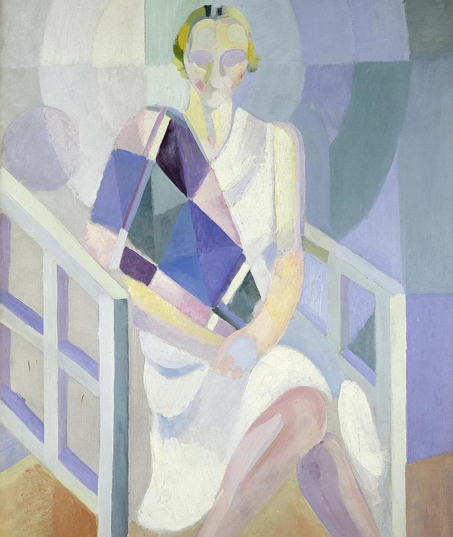 Robert Delaunay. La señora Heim, 1926-1927