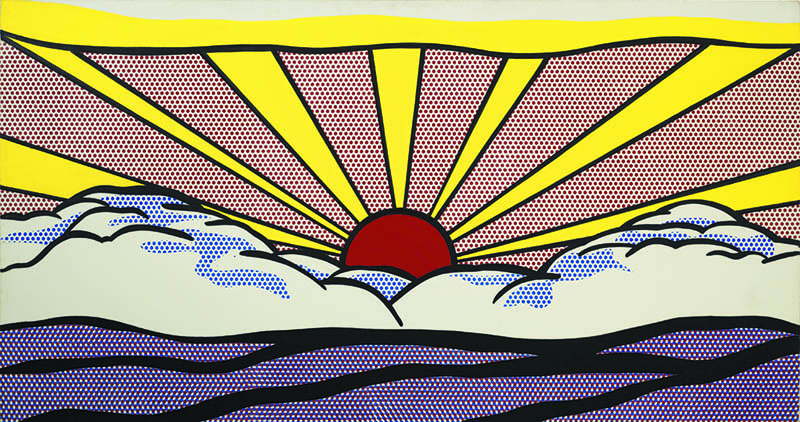 Roy Lichtenstein. Sunrise, 1965