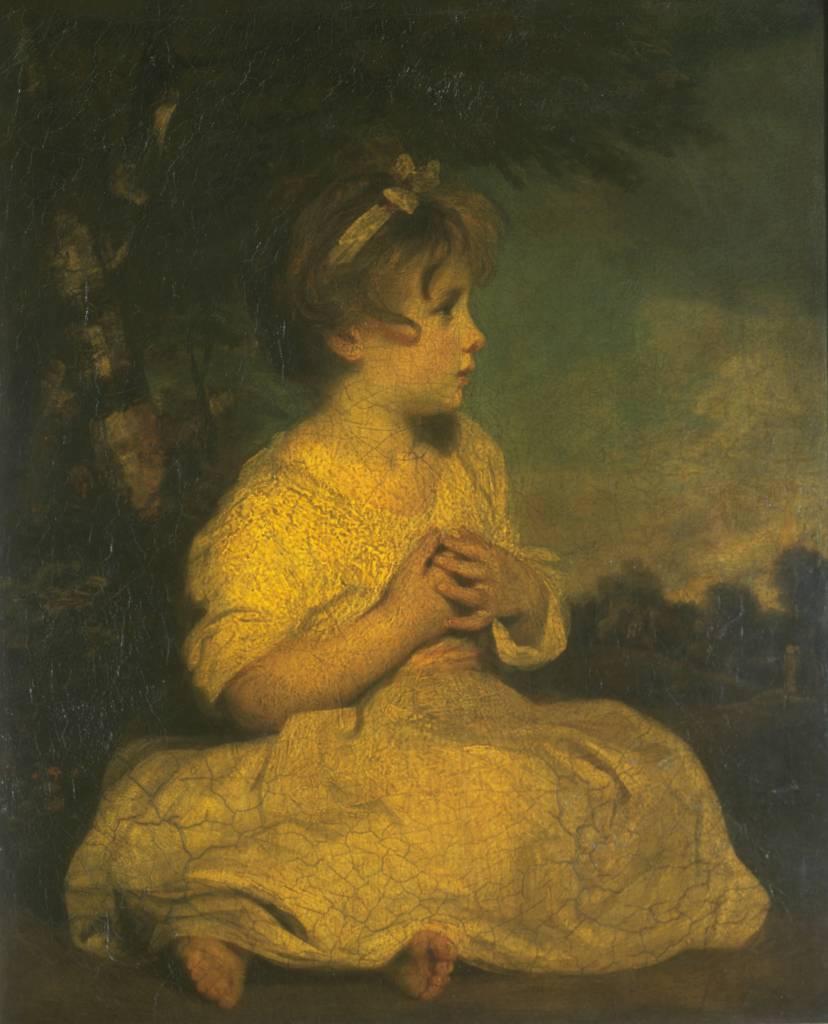 Joshua Reynolds. La edad de la inocencia, hacia 1788