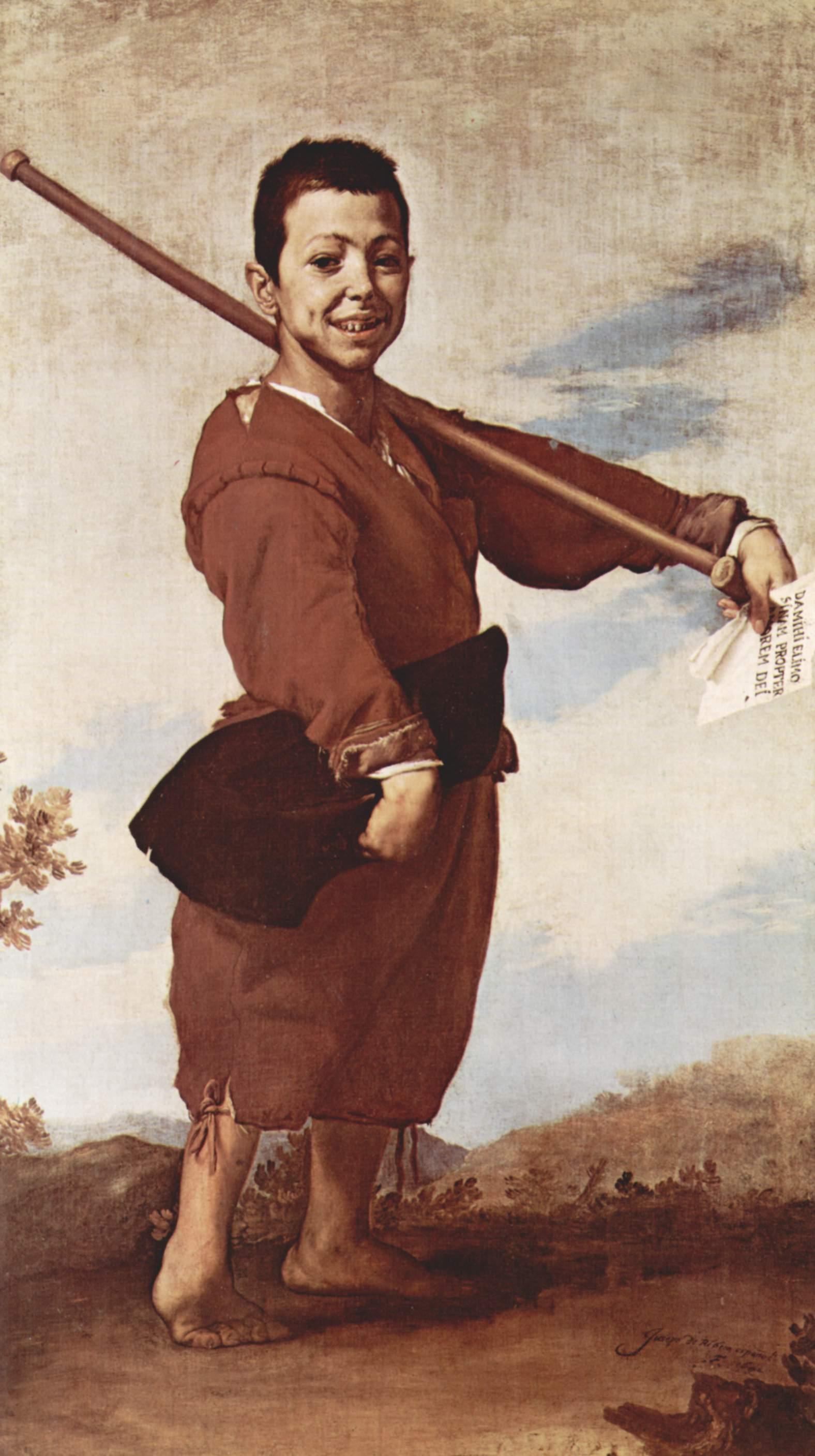 José de Ribera. El patizambo, 1642. Museo del Louvre