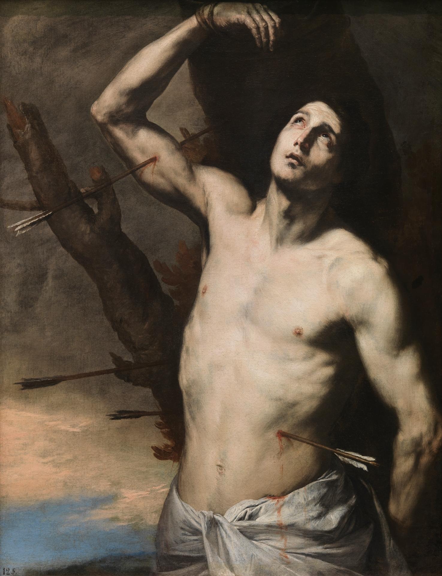 José de Ribera. San Sebastián, 1636. Museo Nacional del Prado