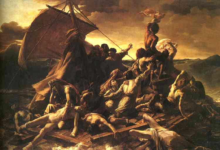 Géricault. La balsa de la medusa, 1818