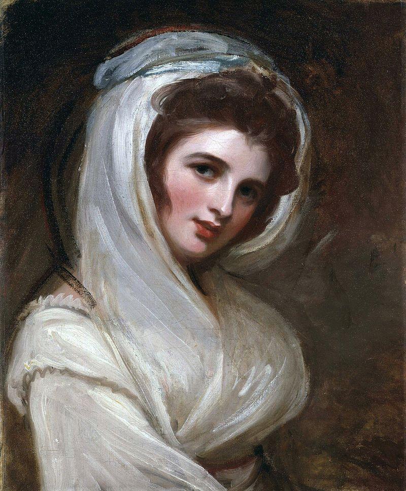 George Romney. Emma Hamilton, hacia 1785