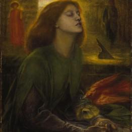 Dante Gabriel Rossetti. Beata Beatrix, 1860-1870