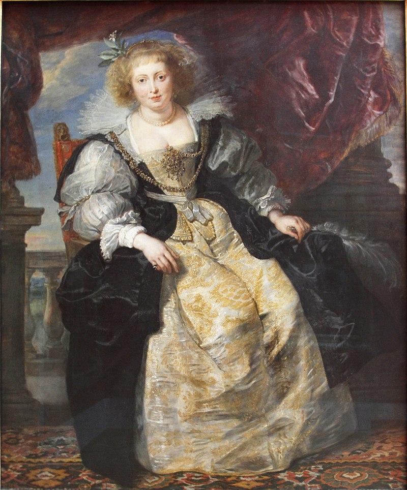 Rubens. Helena Fourment, hacia 1630. Alte Pinakothek, Munich