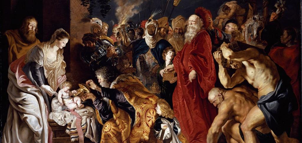 Rubens. La Adoración de los Magos, 1628-1629. Museo Nacional del Prado
