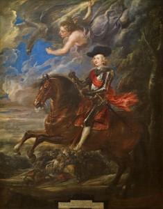 Rubens. El cardenal-infante Fernando de Austria, en la batalla de Nördlingen, 1634-1635. Museo Nacional del Prado