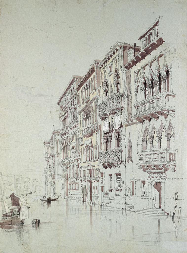 John Ruskin. Palacio Contarini-Fasan de Venecia