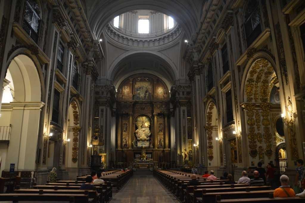 Iglesia de San Isidro. Interior