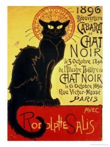 Reopening of the Chat Noir Cabaret, 1896Théophile Alexandre Steinlen