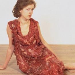 Jana Sterback. Flesh Dress, 1987