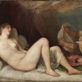 Tiziano. Dánae. The Wellington Collection