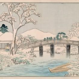 Ukiyo-e, Hiroshige y el azul de Berlín