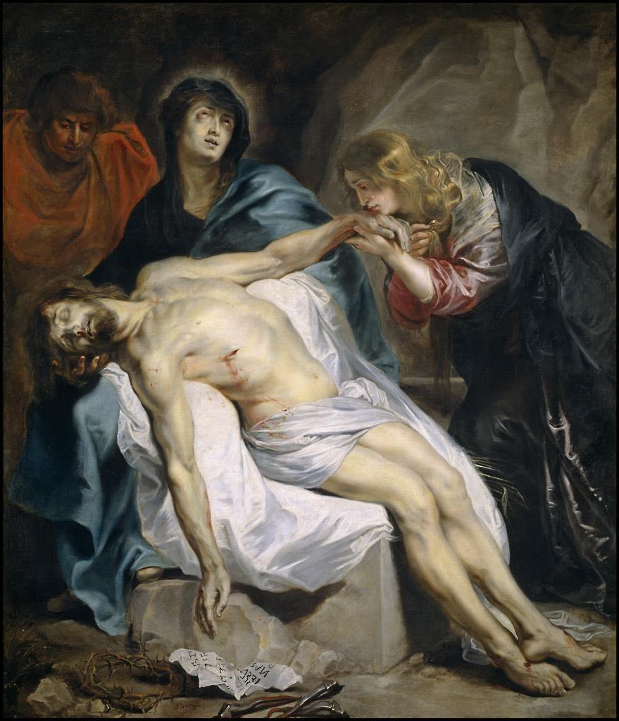 Van Dyck. Piedad, 1618-1620. Museo del Prado