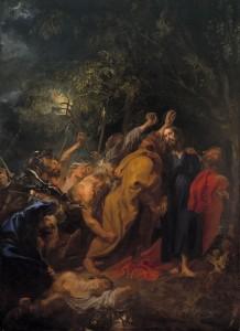 Van Dyck. Prendimiento, 1620. Museo del Prado