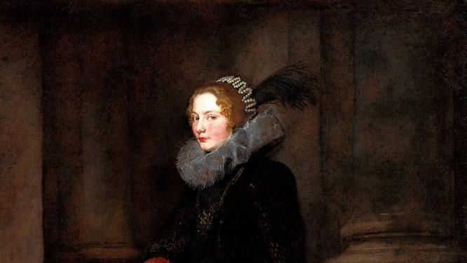 Van Dyck. Retrato de Geronima Spínola, hacia 1624