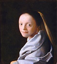 Vermeer. Cabeza de muchacha, hacia 1666-1667. Metropolitan Museum of Art