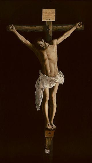 Francisco de Zurbarán. Cristo en la cruz, 1627. Art Institute of Chicago