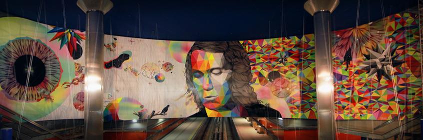 Línea Zero. Arte urbano en el metro de Madrid