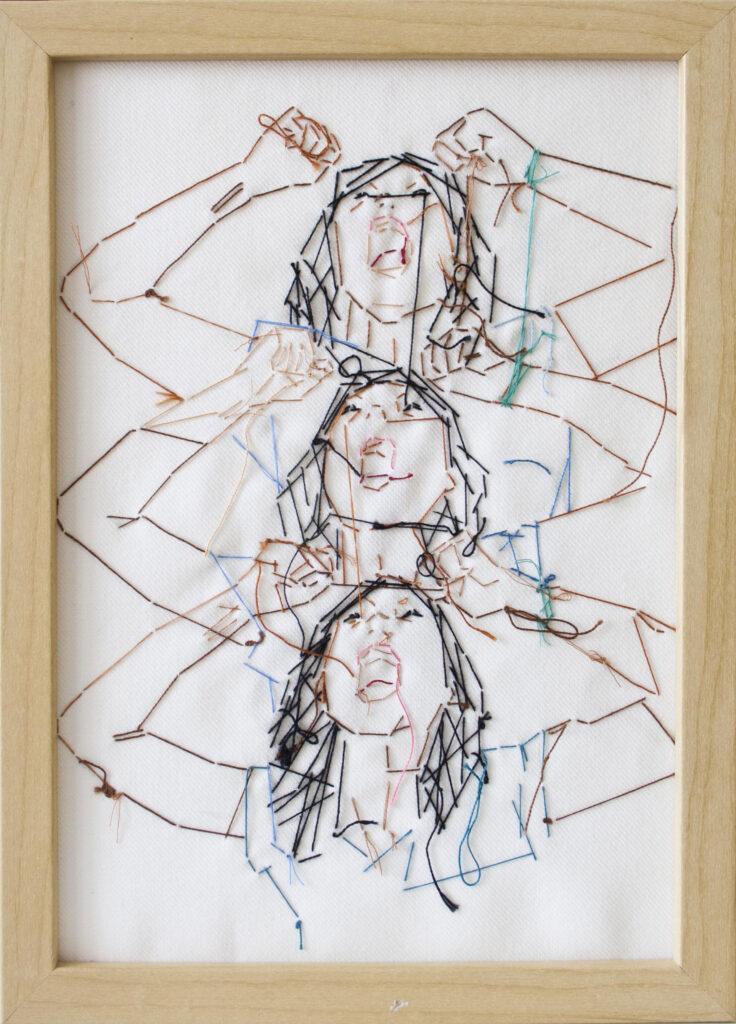 Adassa Santana. Serie Ellas nº 3, 2013