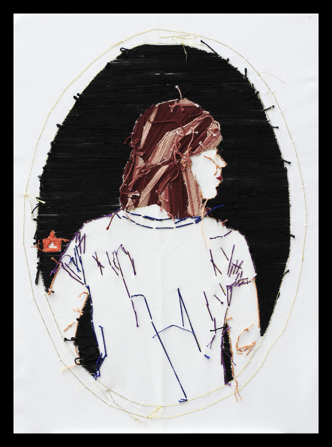 Adassa Santana. Serie Videbitis nº2, 2016