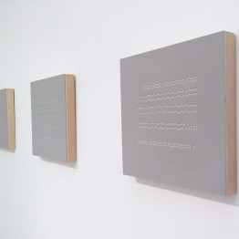 """Ana Pérez Ventura. Notages en """"La mesure du Temps"""". Cortesía H Gallery"""