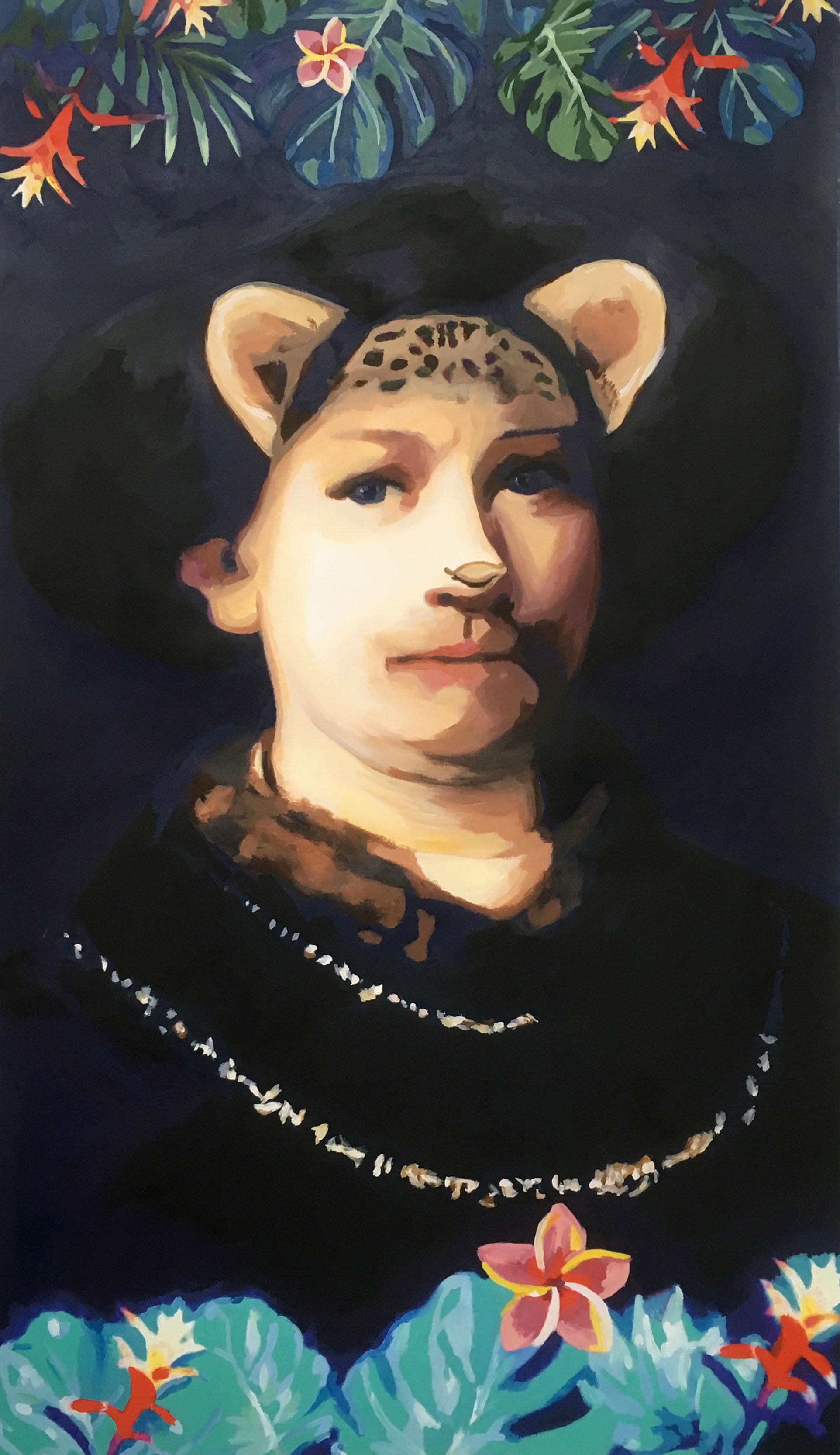Ana Riaño. Rembrandt. Serie RRSS