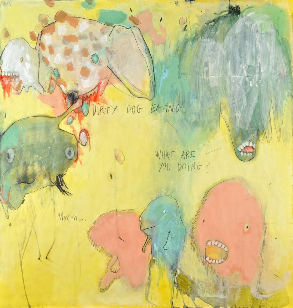 Ana Vernia. Crazy paper 008, 2014
